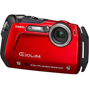 CASIO デジタルカメラ EXILIM-G レッド EX-G1RD