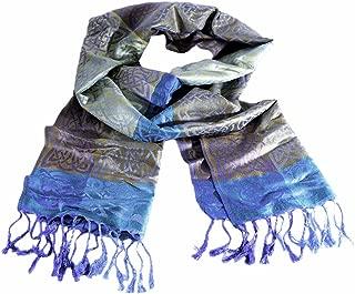 Irish Designed Mulligans Pashmina Scarf With Celtic Knots and Rathlin Design