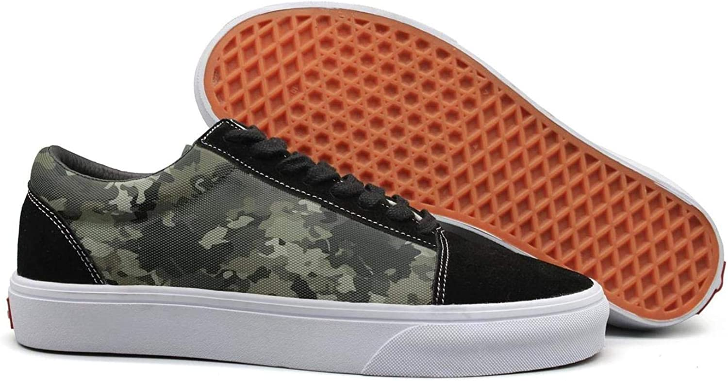 USA Army Desert camo Womens Lace up Canvas shoes Lightweight