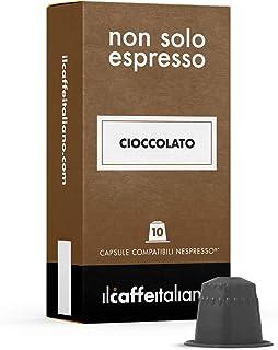 Il Caffè Italiano - 50 Capsule di Cioccolata - Compatibili con Macchine da caffè Nespresso - Frhome