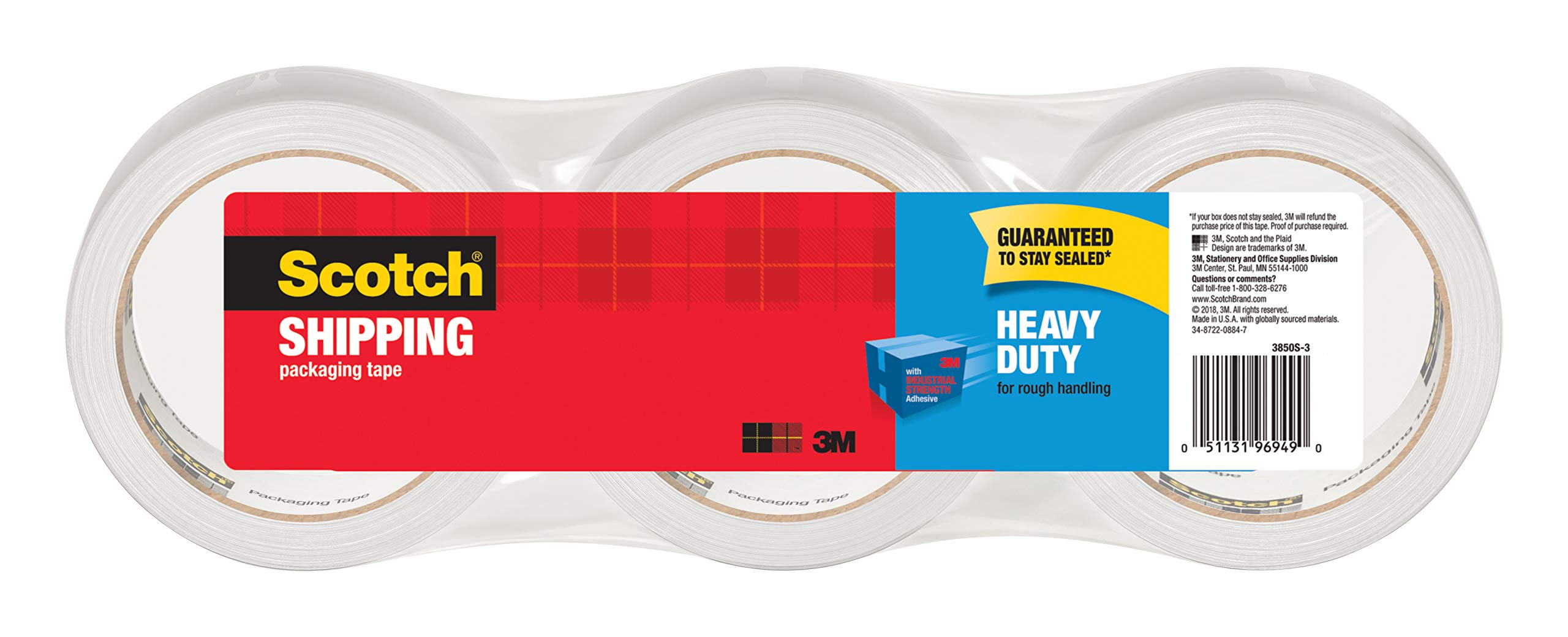 Scotch Heavy Shipping Packaging 3850S 3