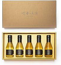 日本酒 の最長27年 熟成 ビンテージ を厳選した プレミアムギフト『 吟醸 -GINJO- 』Vintage1993 梅錦,1996 一乃谷,2004 峰の雪,2004 北の庄,2009 幻の瀧 5銘柄【限定500】贈答品 結婚式 内祝 古希 還暦