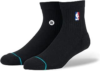 Stance Men's M356D17LOG NBA Logoman QTR Casual Sock