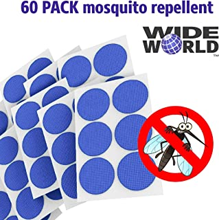 Mosquito Repellent Stickers for Kids - 100% Natural Bug Repeller Patch with Essential Oils - Anti Insect Patches for Family - Deet-Free Fly Pest Control - Non-Toxic and Safe for Baby Teenager Adult