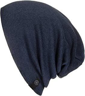 Warm Slouchy Beanie Hat for Men and Women - Deliciously Soft Daily Beanie in Fine Knit