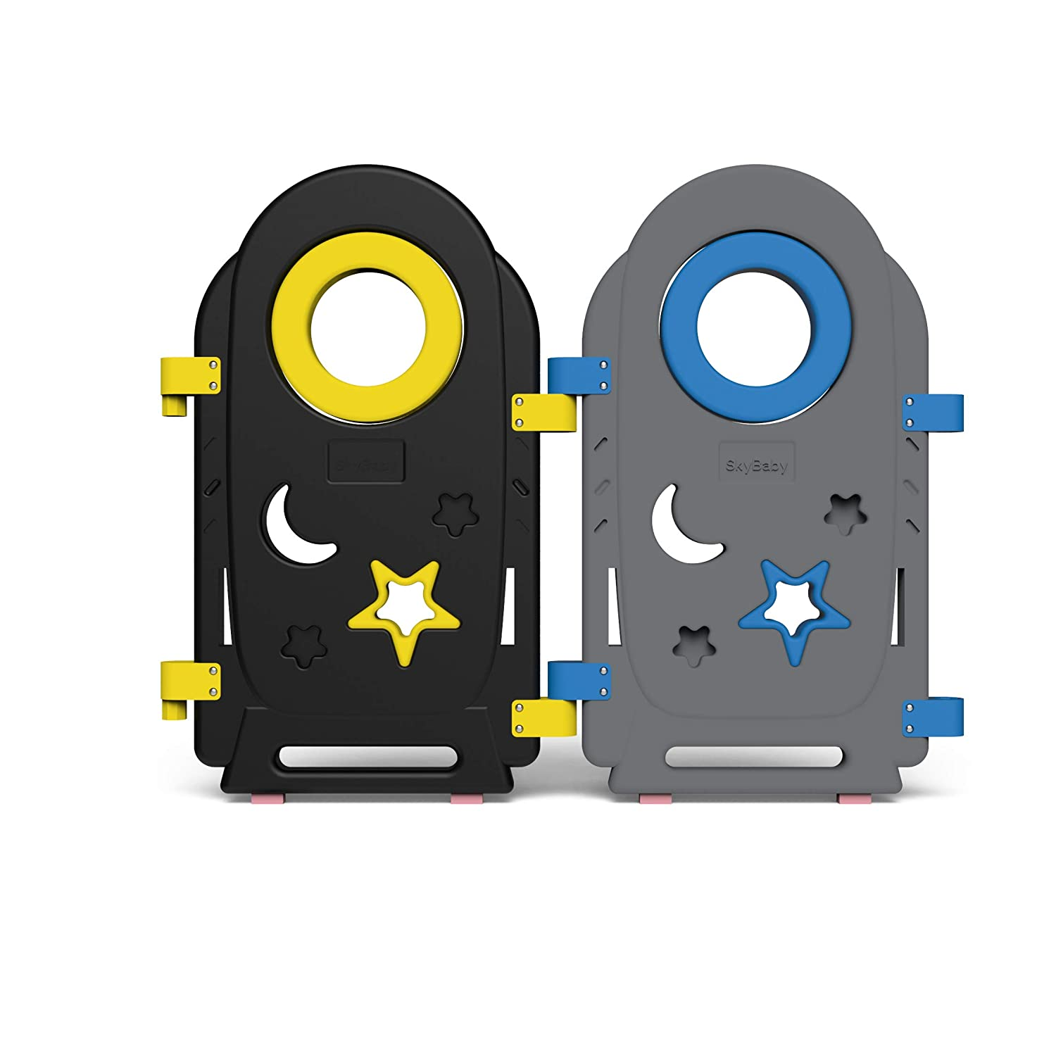 Additional Panel Only for Safe Zone Playpen 2 Panels (Blue Yellow)
