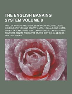 The English Banking System Volume 8
