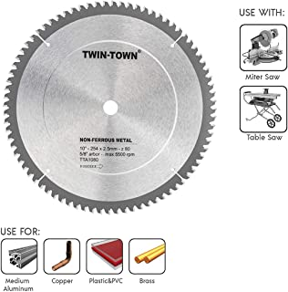 10 inch metal saw blade