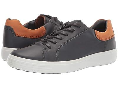 ECCO Soft 7 Street Sneaker (Moonless/Amber) Men