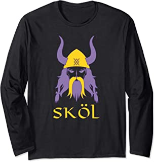 Skol Nordic Scandinavian Warrior Viking Helmet Long Sleeve