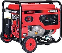 A-iPower AP5000V 5000-Watt Gas Powered Portalable Generator   AP5000, 5000 WATT, Oranage