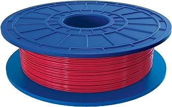 Dremel PLA 3D Printer Filament, 1.75 mm Diameter, 0.5 kg Spool Weight, Red