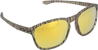 Oakley Men's Enduro Non-Polarized Iridium Oval Sunglasses