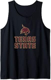 Texas State University Bobcats NCAA PPSWT01 Tank Top