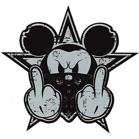 Finest Folia Retro Vintage Aufkleber Sticker Old School Ace Kult Rockabilly 21 Gangster Mouse Auto