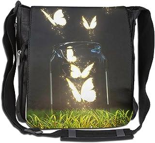 HUE FIUB Classic Fantasy Unicorn Fairies Messenger Bag Shoulder Bag Outdoor Sports Crossbody Bag Side Bag for Men Women