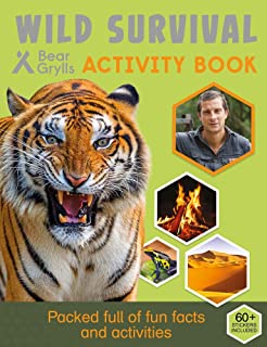 Bear Grylls Sticker Activity: Wild Survival (Bear Grylls Activity)