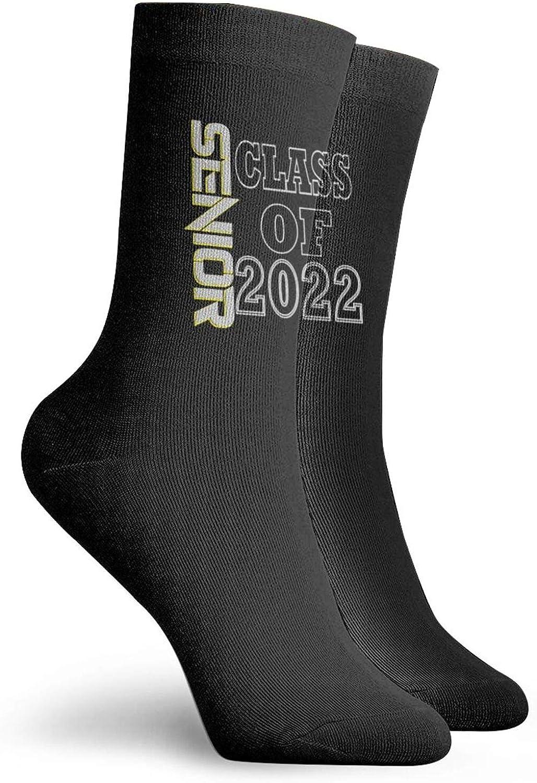 Senior Class Of 2022 Funny Gift Athletic Running Hygroscopic Socks Comfort Cool Crew Socks For Men/Women