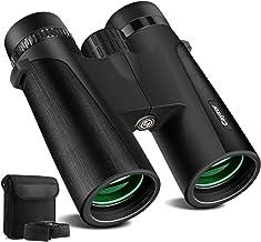 Cayzor 12x42 Binoculars for Adults - HD Professional Binoculars for Bird-Watching Traveling Stargazing Camping Concerts Sports - BAK4 Prism FMC Lens Strap Carrying Bag