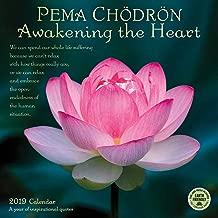 Pema Chodron 2019 Wall Calendar: Awakening the Heart - A Year of Inspirational Quotes