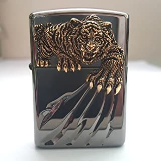 Zippo Tiger Claw BI Lighter Genuine Authentic Original Packing 6 Flints Set