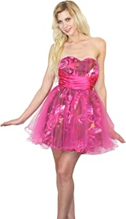 Nox Dresses Nox Anabel Sweetheart Neckline Dress Pink Tulle Dress Sparkly Pink Prom Dress Homecoming Dress