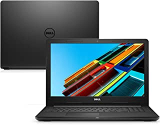 "Notebook Dell Inspiron 15 3000, i15-3567-D15P, 7ª Geração Intel Core i3-7100u, 4 GB RAM, HD 1TB, Intel HD Graphics 620, Tela 15.6"" LED HD, Linux, Preto"
