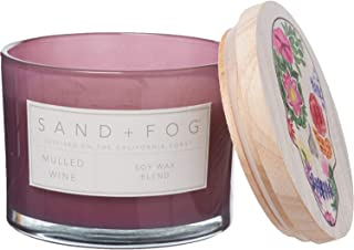 Sand + Fog Mulled Wine Halloween Soy-Blend Candle - 12 oz.