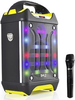 Portable Bluetooth Karaoke Speaker System – Audio Recording Function, 32 GB USB/SD..