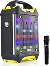 Portable Bluetooth Karaoke Speaker System – Audio Recording Function, 32 GB USB/SD..