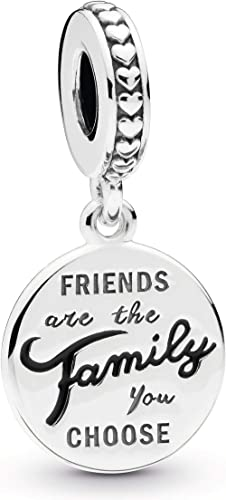 Pandora Jewelry Friends Are Family Dangle Sterling Silver Charm