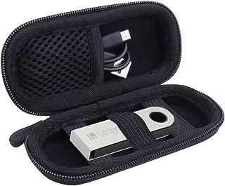 キャリーストレージケース元帳Nano S / Trezor BTCビットコイン財布ハードウェアby aenllosi ブラック