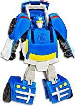 """PLAYSKOOL Heroes - Transformers - 4.5"""" Chase The Police - Rescan Bots - Kids Toys Ages 3+"""