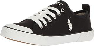 Polo Ralph Lauren Kids Kids' Camden Black Canvas W/White PP Sneaker