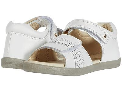 Bobux Kids I-Walk Hampton (Toddler) (White Comet) Girls Shoes