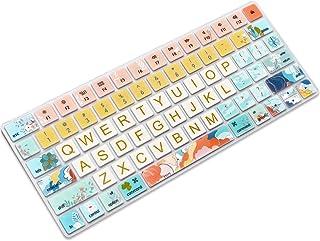 SANFORIN Keyboard Cover Skin for Apple iMac Wireless Magic Keyboard 2nd Gen MLA22LL/ A (Model: A1644), Silicone Skin Prote...