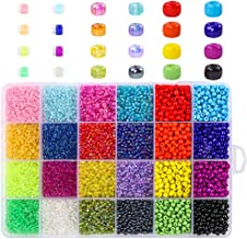 Best glass seed beads sizes Reviews