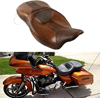 XFMT Desert Rider and Passenger Seat Compatible with Harley Touring Tri Glide 2014-2020