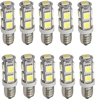 2x ampoules E10 1LED 1W High Power 12V lumière blanche