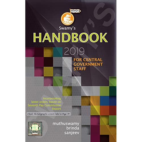 Swamy's Handbook 2019 - English Edition for Central Government Staff (with Diary 2019 free as long as stocks last)