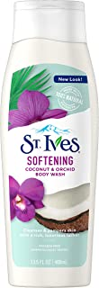 St. Ives Softening Coconut and Orchid Body Wash, 400 ml