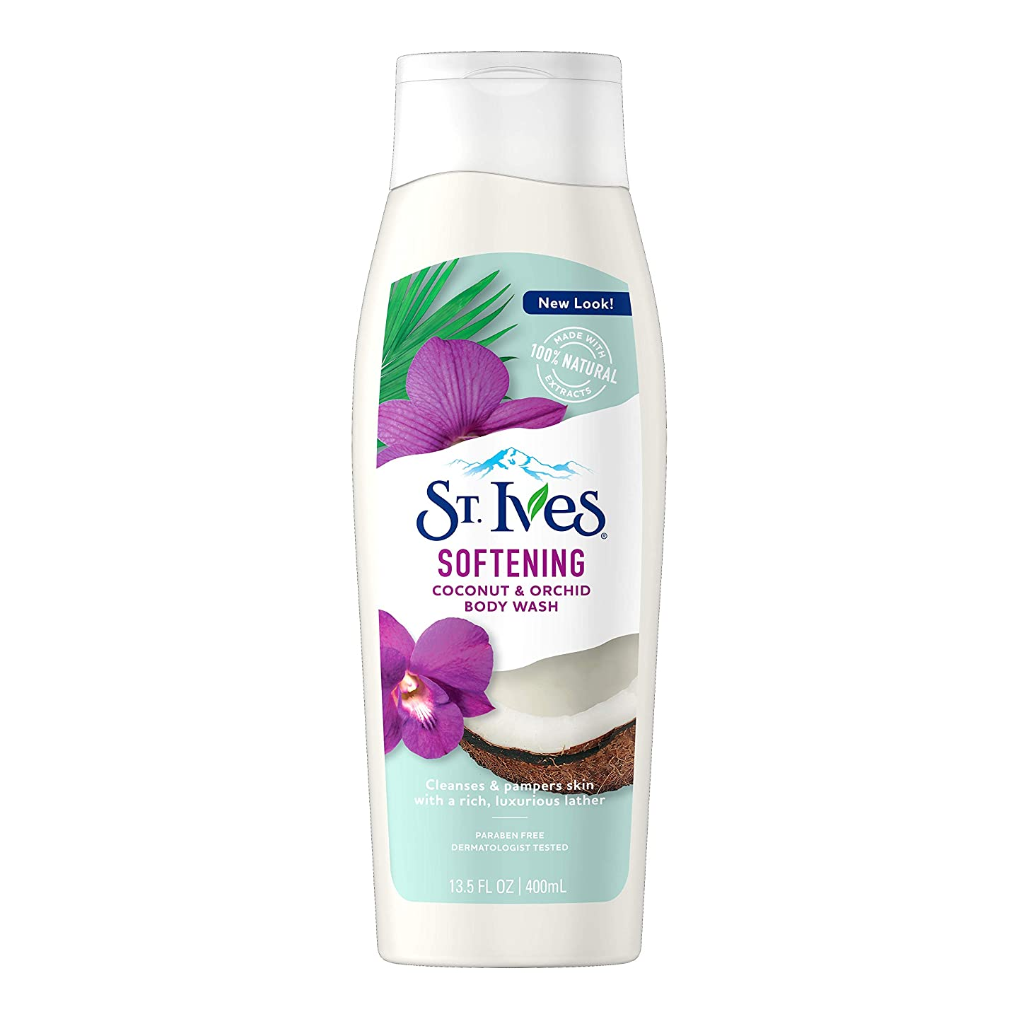 ヨーロッパデコレーション再開St. Ives Body Wash Indulgent Coconut Milk 400 ml by St. Ives