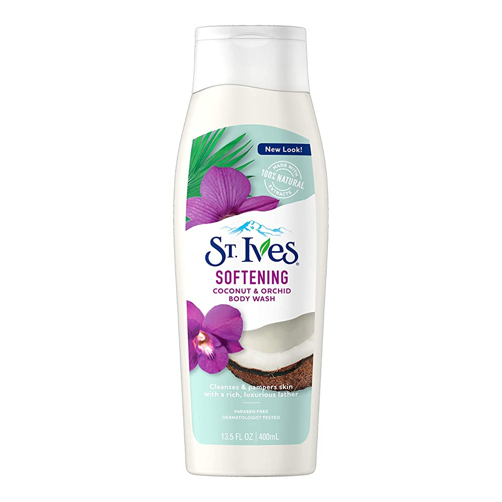 人事粘性のクラックSt. Ives Body Wash Indulgent Coconut Milk 400 ml by St. Ives