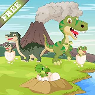 Dinosaurs game for Toddlers and Kids : discover the jurassic world of dinos ! FREE