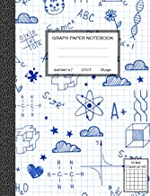 Graph Paper Notebook, Quad Ruled 5 squares per inch: Math and Science Composition Notebook for Students PDF