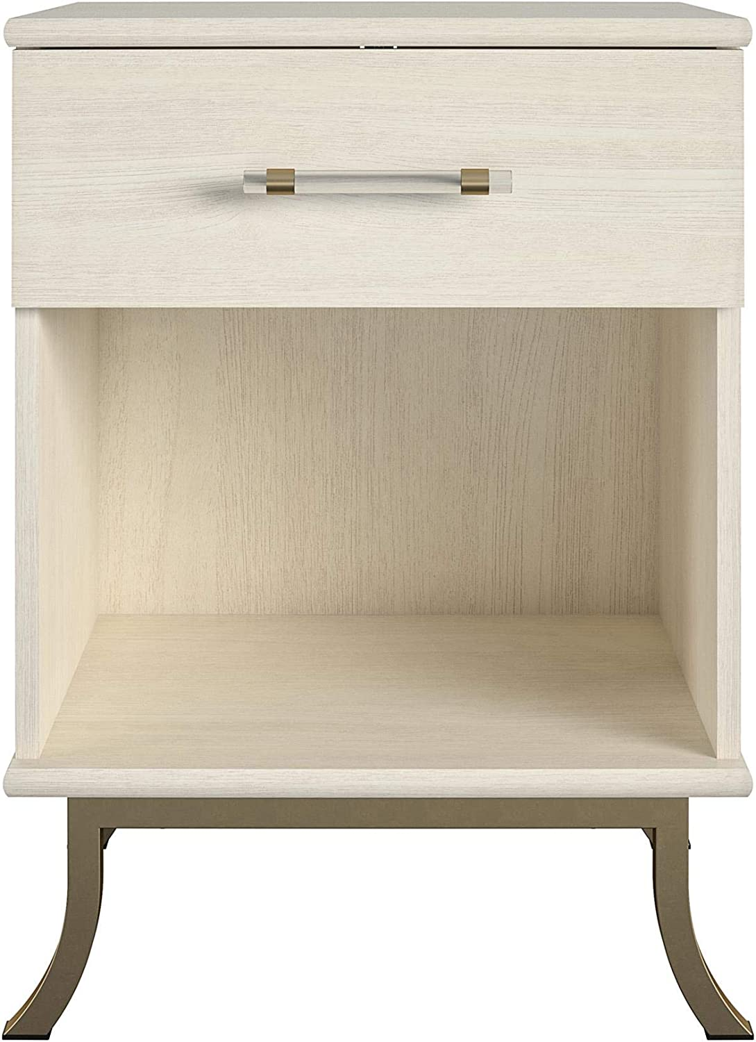 Little Seeds Monarch Hill Clementine Nightstand Oak Ivory Indianapolis Chicago Mall Mall White