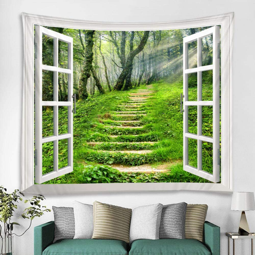 Beautiful Forest Now free Overseas parallel import regular item shipping Landscape Printed Wall Tapestry Bohemia Hanging