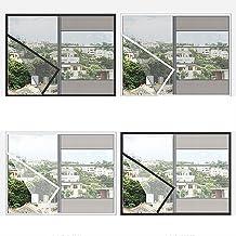 BASHI Zelfklevend venster scherm Mesh, Milieu PVC Glasvezel Venster Net, Praktische Cat Protector, Binnenlandse Gemakkelij...