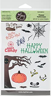 Joy Clair Clear Stamps 4x6-Happy Halloween