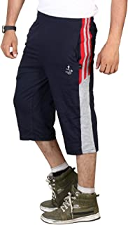 VEGO Men's Casual Cotton Three Forth